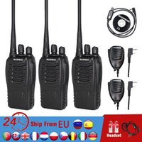3pcs Baofeng 888S Walkie Talkie 6KM Portable Ham Radio BF-888S Two Way Radio FM Transceiver bf888S 5W UHF Handheld CB Intercom1
