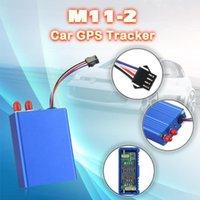 سيارة GPS الملحقات مركبة تعقب محدد M11-2 جهاز تتبع مع مع ارتفاع سرعة إنذار خارجي GPS / GSM الهوائي كشف الوقود