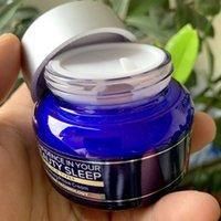 Vertrauen in Ihre Schönheitsschlaf Creme Primer feuchtigkeitsspendende Nachtcreme Gesichtsfestigkeit 60ml Umwandeln von Kissencremes aufhellen Haut verbessert Falten Makeup