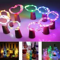 2M 20LED 문자열 라이트 코르크 와인 병 조명 LED 조명 장식 침실 크리스마스 생일 파티 요정 문자열 램프