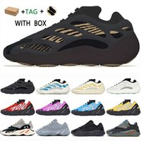 adidas  yeezy boost 700 v2 v3  kanye west  2021 yezzy yeezys shoes chaussures yecheil sun scarpe shoes 3m white black reflective mens women stock x sneakers wave runner 700