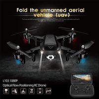 RC Вертолеты Камера WiFi FPV Дрон GPS Drone Высота 2. Оптический поток положения Дрон камеры RC игрушки для малыша LJ201210