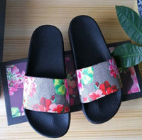 Mode Männer Frauen Sandalen Rutschen Sommer Wohnungen Sexy Echte Leder Platform Sandalen Wohnungen Schuhe Damen Strand Schuhe SH02 G7