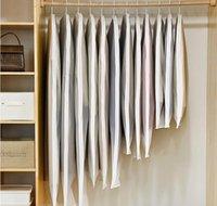 Clear Side-Open Brothes Borsa di stoccaggio per uso domestico Giacca camicia cappotto polvere idraulico Protezione a prova di umidità c Jllklv Lajiaoyard