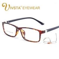 Moda Gafas de sol Marcos Ivsta Masculino Mujer Plaza Prescripción óptica TR90 Gafas Marco Men Ultra Light Soft Myopia Lectura Lentes 152