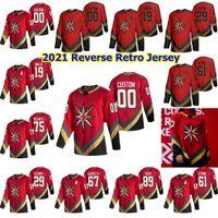 2021 Reverse Retro Vegas Golden Ritter Hockey-Trikots Max Pacioretty James Neal Nick Cousins Alec Martinez Starke kundenspezifische Nähte Männer