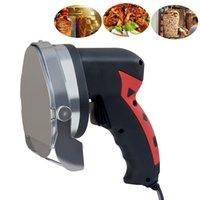 DHL gratis! Cachinera de carne asada Cuchillo de kebab eléctrico comercial Shawarma Cutter Handheld BBQ Beef Cutting Machine Gyro Cuchillo Envío gratis