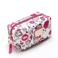 Rosa Sugao Designer Make-up Taschen Heiße Verkäufe Kosmetiktaschen Große Kapazität Toilettenbeutel Tragbare Aufbewahrungstasche Kupplungsbeutel Reisetasche Dame Geldbörsen