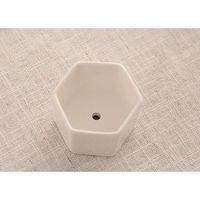 144 adet Moq Seramik Etli Tencere Toptan Altıgen Kare Mini Beyaz Porselen Çiçeklik Tedarikçiler için Weddin Wmtpmt Sports2010
