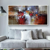 Large Size Modern Abstract Wall Art Canvas Painting Nordic C...