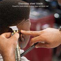 جديد نقش رئيس القاطع الكهربائية الشعر كليبرز بوذا التنين t- شكل بطارية الرجال المتقلب آلة قطع الشعر