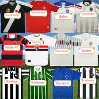 Retro Palmeiras Classic Soccer Jersey Botafogo Cruzeiro Recife PE Atlético Mineiro Santos Bahia Internacional Futebol Camisa