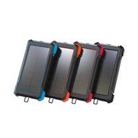 Portable USB 10000mah Solar Power Bank for Xiaomi MI Samsung VIVO Backup Outdoor Camping Strong Flashlight Chargers