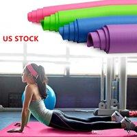US STOCK Fitnessgeräte Yoga-Matte Übung Pad Thick nicht Beleg Folding Gym Fitness-Matte Pilates Outdoor Indoor Trainingsgymnastik-Übungs-FY6012