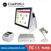 Kostenloser Versand Günstiger Preis Alle in einem Touch-Bildschirm Epossysteme Ganze Set Cash Box Scanner Drucker-PC zu verkaufen1