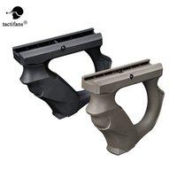 قبضة جبهة Tactifans ل20MM دليل السكك الحديدية جبل الأمام فور التعامل مع جل مكبر الجيش الألوان التكتيكي لعبة بندقية زينة نايلون Q1118