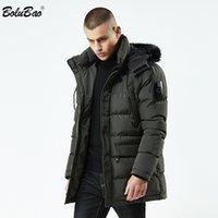 BOLUBAO Men Parkas Coats Winter Male Hooded Jackets Casual Thicken Brand Parka Coat Men's Fashion Long Section Warm Parkas 201118