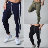 الرجال السراويل onono novo esporte قيعان عارضة ماركا ginásio calças دي treinamento fitness musculação dos homens finas com cordão
