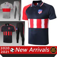 2021 Atletico Soccer Jerseys Hommes Polo Chemise 21 Madrid Maglie Da Calcio Verratti Insigne Immobile Bonucci Polo Polo Sleeve Shacksuit