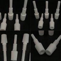 18mm Cerámica Alúmina Nails Desgaste Resistencia Industria de cigarrillos Cerámica de uñas Cerámica y porcelana Carrier Gris Blanco Fumar Accesorios 5JH B2