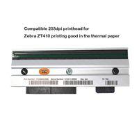 Новая печатающая головка для Zebra ZT410 Термальная этикетка Принтер 203DPI Принтеры печатают голову P1058930-009 Хорошее качество, гарантия 90дней