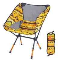 Light Moon Chair Portable Garden 7075 Chair Fishing Seat Camping Fixed Height Folding Furniture Indian Armchair Q1130