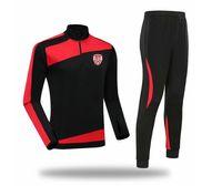 Derry City 2021 2022 남성 재킷 바지 축구 트랙 슈트 축구 훈련 정장 어린이 운동복 조깅 착용 성인 트랙 츠트