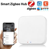 Tuya Zigbee Bridge Smart Home Zigbee Gateway HUB Control remoto Zigbee Dispositivos a través de la aplicación Smart Life Works con Alexa Google Home