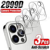 3 قطع غطاء كامل الكاميرا عدسة حماية الزجاج لآيفون 12 11 برو ماكس xs الزجاج المقسى ل iphone x xr 8 7 زائد عدسة الظهر الزجاج