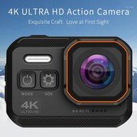 IP68 portable imperméable motrice 3K caméra sports cyclisme conduite Mini caméscope vidéo pour sports de plein air DVR1