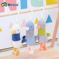 Metoo Bebek Dolması Oyuncaklar Mini Peluş Bebek Hayvanlar Yumuşak Erkek Bebek Çocuk Oyuncakları Çocuk Kız Erkek Kawaii Mini Angela Tavşan Kolye Anahtarlık