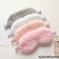 Sleeping Mask Blindfold Soft Plush Eye Masks Cute Love Cloud...
