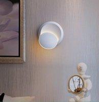مصباح الجدار الحديثة بسيطة عيون كبيرة بالأبيض والأسود لطيف القمر مطاردة شخصية غرفة الطراز المعيشة غرفة النوم