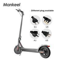 Mankeel EU Srock 8,5-дюймовая легкая веса портативный и складной электрический скутер со светодиодным дисплеем Новогодние подарки MK042