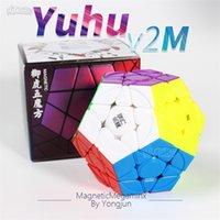 Neo المغناطيسي mgaminxed يونغ جون يوهو v2 m magentic mega cube 3x3 ماجيك سرعة المكعب 3x3x3 يو جي لغز البنتاغون كوبو ماجيكو الاطفال اللعب 201219