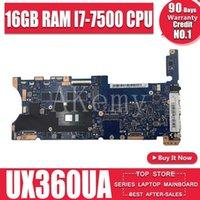 Scheda madre del computer portatile di configurazione Top AkEMEME per ASUS Q324UAK Q324UA Q324U scheda madre 60NB0C00-MB8000 16 GB RAM -7500 CPU1