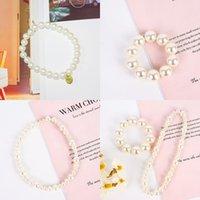Girl White Pearl Coaill Coaily Jewellery Donne Pure Color Moda Equipaggiamento Gomma Accessori per capelli ACCESSORI DI GOMMA Versatile 2 6SH J2
