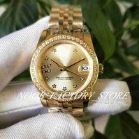 Vendas de fábrica Mulheres Movimento Automático 31mm Senhoras SS / 18K Diamante Diamante Diamante Bezel com Caixa Original Diving Driving Gift Watch