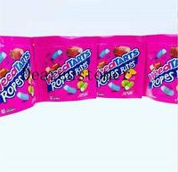 2021S Neue Errlli Saure Terp Crawlers Taschen 600mg Gummi-Edibles Verpackung Mylar Bag 500mg Hashtag Honig Riecher Beweisbeutel Kekse Kalifornien Tasche