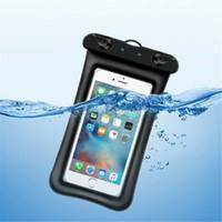 """6,5 """"impermeável bolsa flutuante saco seco airbag Saco de natação capa para iPhone Samsung Cell Phone"""
