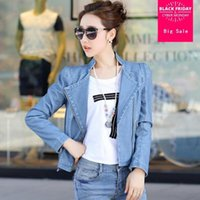 Women's Jackets Factory Wholesale Great Quality 2021 Arrival Women Leather PU Motorcycle Jacket Was Thin Short W1000