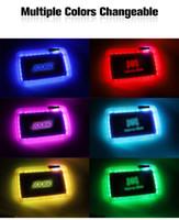 6 couleurs Runtz Backwoods Backwoods Plateau de roulement à LED rechargeable à LED rechargeable en vedette Tobinet de rangement de tabac de tabac à herbe sèche avec sac de transport