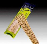 30 cm de longitud Hoomall 100pcs / docena de barbacoa alfombrillas de parrillas de bambú pinchos de bambú asar shish wood sticks barbacoa barbacoa herramientas chur bbygxo xmh_home