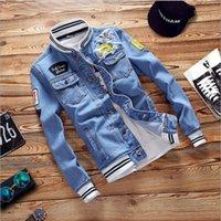 Luxus Herren Denim Jacke Hip Hop Windjacke Mode Designer Jacken Männer Frauen Jean Jacken Streetwear Mantel Hohe Qualität Denim Mantel Kleidungsstück