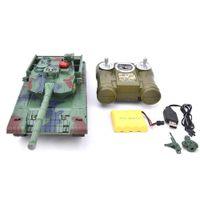 Kids 778-1 / 2/3/4 Моделирование 1:24 RC Battle Toys Toys Toysler Light Пульт дистанционного управления Тяжелые машины Танки Toys для детей подарок 201208