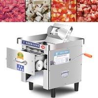 Gewerbe Fleischkutter Maschine frischen Fleisch Slicer Gemüsereißwolf elektrische Rind- und Hammelfleisch in Scheiben schneiden 220V