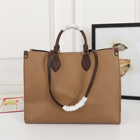 Onthego النساء حمل حقيبة محفظة محفظة المرأة حقيبة أعلى مقابض حزام ستوكات بطانة التسوق أكياس M44576