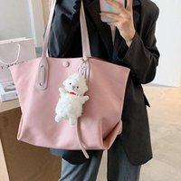 Сумки на плечо PU водонепроницаемая сумочка женская сумка классическая текстура шикарные женщины портативные большой емкости покупок