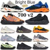 700 v2 مشرق الأزرق الصلبة رمادي الاحذية البرتقال الثلاثي الأسود الفوسفور الجمود النظير عداء فانتا الرجال النساء المدربين أحذية رياضية