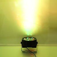 30W 18-RGB LED عن بعد / السيارات / التحكم الصوتي DMX512 عالية السطوع مصباح مصباح مصغرة (AC 90-250V)